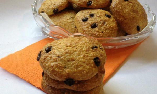 Biscotti cocco e cioccolato Dukan ricetta light