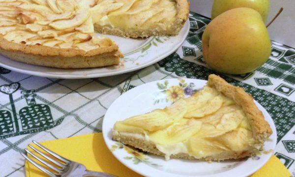 Crostata crema e mele Dukan ricetta light