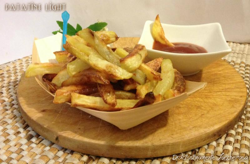 Patatine light ricetta salva linea con gusto