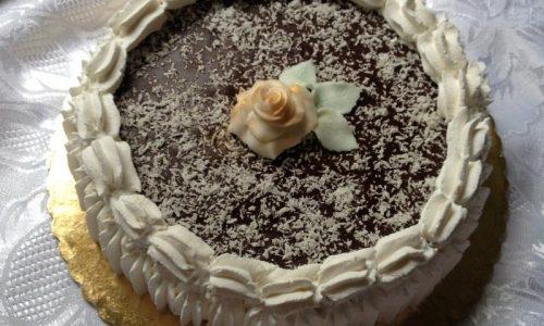 Delizia al cocco torta senza cottura ricetta semplice