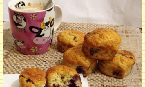 Tortine Dukan Escalier con more ricetta light