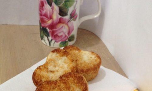 Tortine al te' verde senza uova Dukan Escalier ricetta