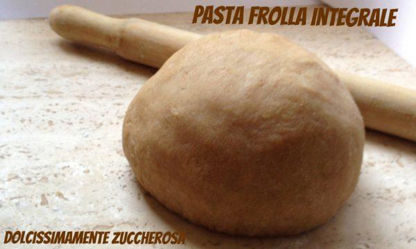 Pasta frolla integrale con zucchero di canna ricetta