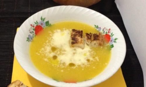 Vellutata di zucca zuppa ricetta anche Dukan Escalier