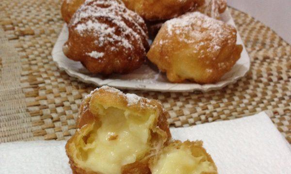 Bigne' di San Giuseppe fritti ricetta