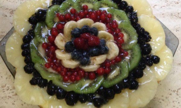 Crostata di frutta fresca ricetta facile
