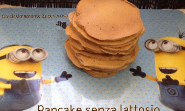 Pancake senza lattosio ricetta