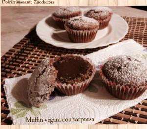 Muffin vegani con sorpresa ricetta