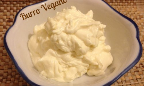 Burro Vegano ricetta facile