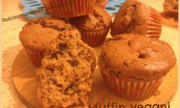 Muffin vegani con cioccolato ricetta