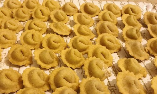 Tortellini ravioli vegan ricetta