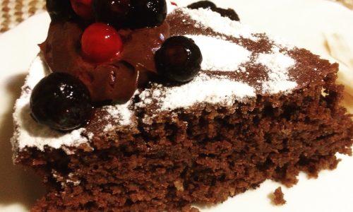 torta caprese vegan ricetta