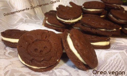 Oreo biscotti vegan ricetta