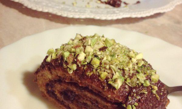 Rotolo dolce ripieno ricetta vegan