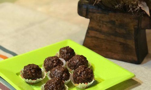 Dolcetti vegan al cioccolato ricetta