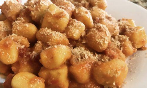 Gnocchi ricetta vegana