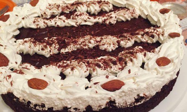 Torta caprese vegan gluten free ricetta