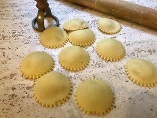 Ravioli ai funghi porcini vegan ricetta