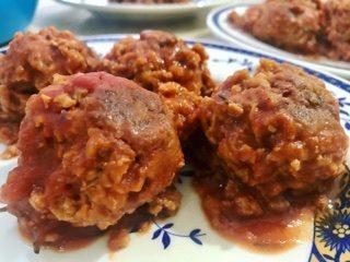 Polpette vegane al sugo ricetta