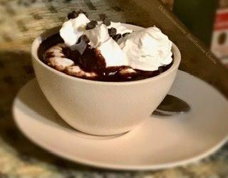 Cioccolata in tazza vegana ricetta