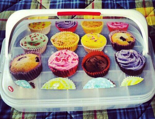 La valigia dei cupcakes !!!!!!