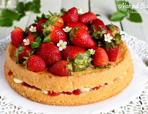 Naked Cake o Torta Nuda