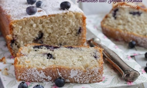 Plumcake allo Yogurt e Mirtilli