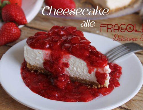 Cheesecake con Fragole