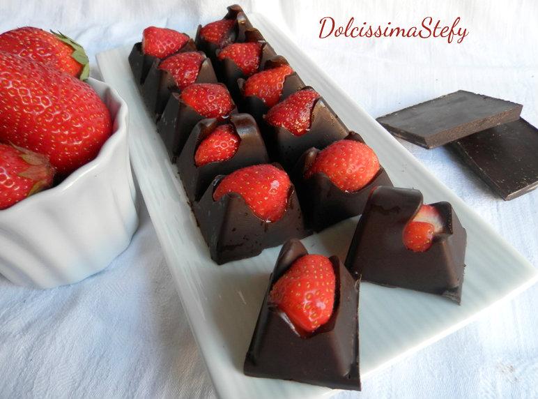 Cioccolatini Cuor di fragola