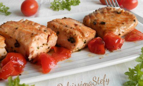 Bocconcini di Salmone e Pomodorini