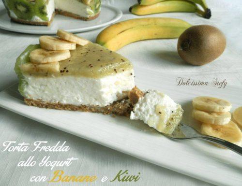 Torta Fredda Banana e Kiwi