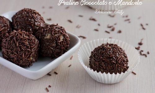 Praline cioccolato e mandorle