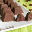 Cioccolatini ai Mirtilli