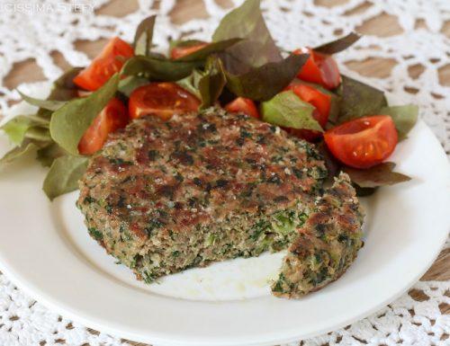 Hamburger di Carne e Spinaci