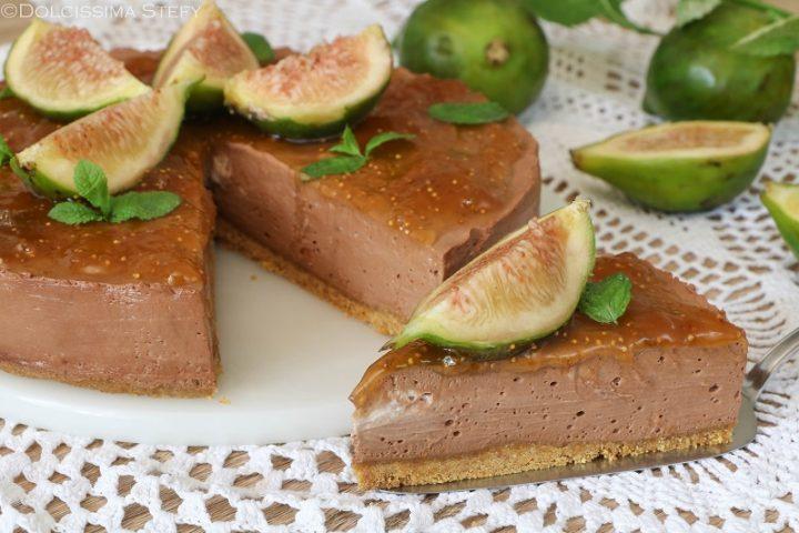Cheesecake Fichi e Cioccolato