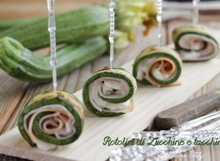 Rotolini di Zucchine e Tacchino