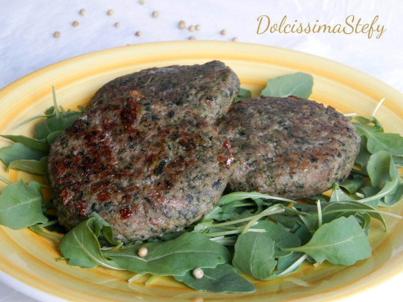 hamburger di carne e spinaci - dolcissima stefy - Come Cucinare Hamburger Di Carne
