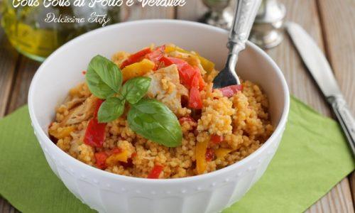 Cous Cous con Pollo e Verdure,ricetta