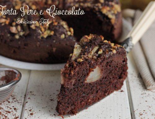 Torta di Pere e Cioccolato,ricetta da forno