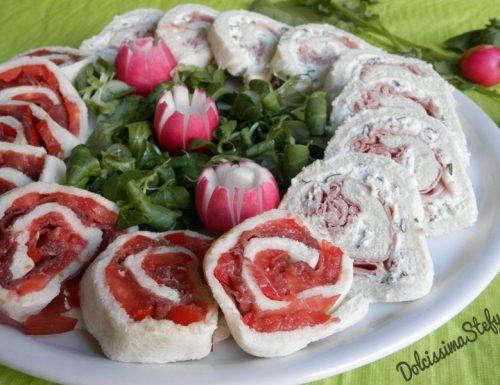 Girelle salate con Bresaola e Prosciutto cotto