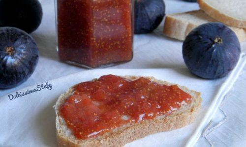 Marmellata di Fichi neri,ricetta