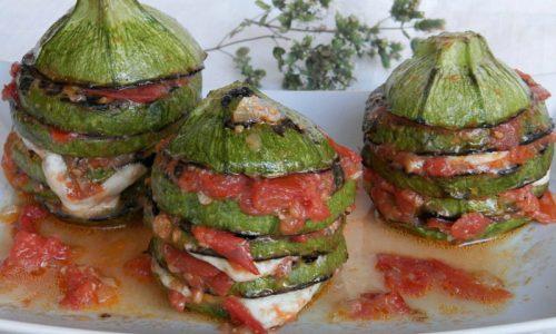 Torrette di Zucchine alla Maggiorana