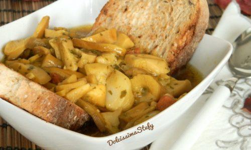 Zuppa di Ovoli