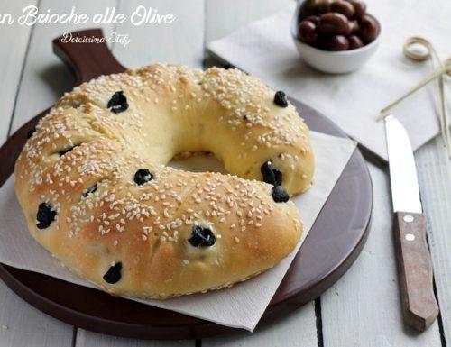 Pan Brioche alle Olive