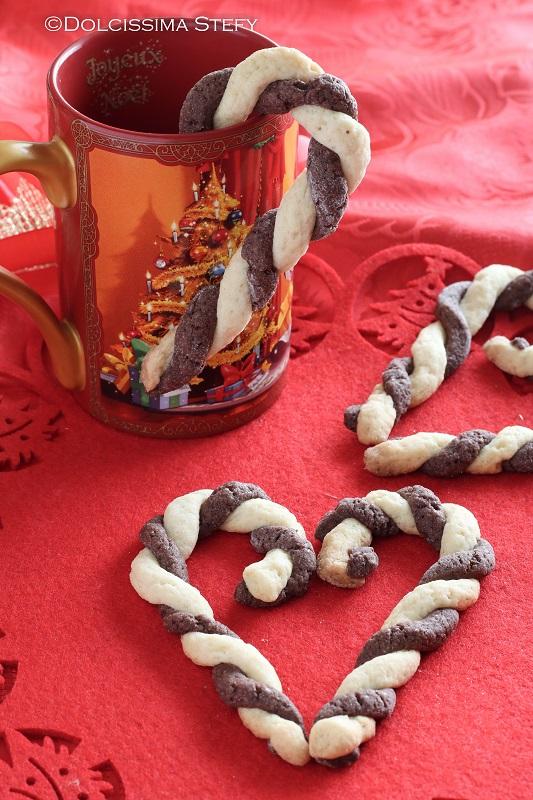 Candy Cane di Pasta Frolla
