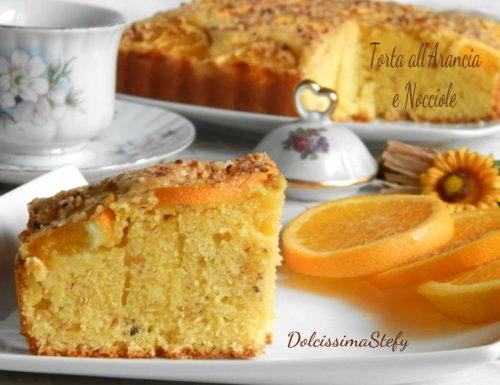 Torta Arancia e Nocciole