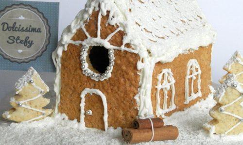 Casetta di Pan di Zenzero,ricetta natalizia