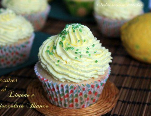 Cupcakes al Limone e Cioccolato bianco
