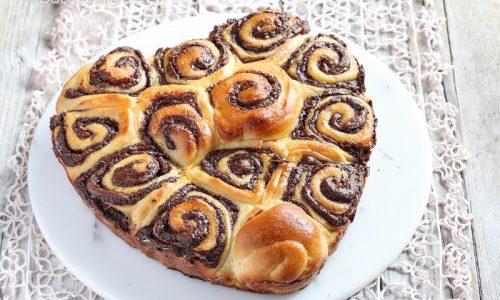 Brioche Nutella e Nocciole, ricetta e tutorial