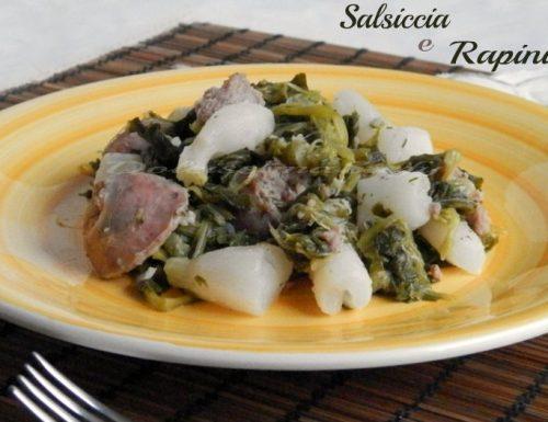 Salsiccia e Rapini,ricetta Toscana